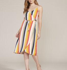 Stella Dress Multi Stripe
