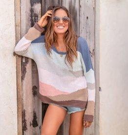 Desertscape Sweater Bronze