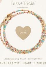 Little Lovely Triple Wrap Bracelet