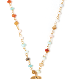 Bloom Gemstone Necklace