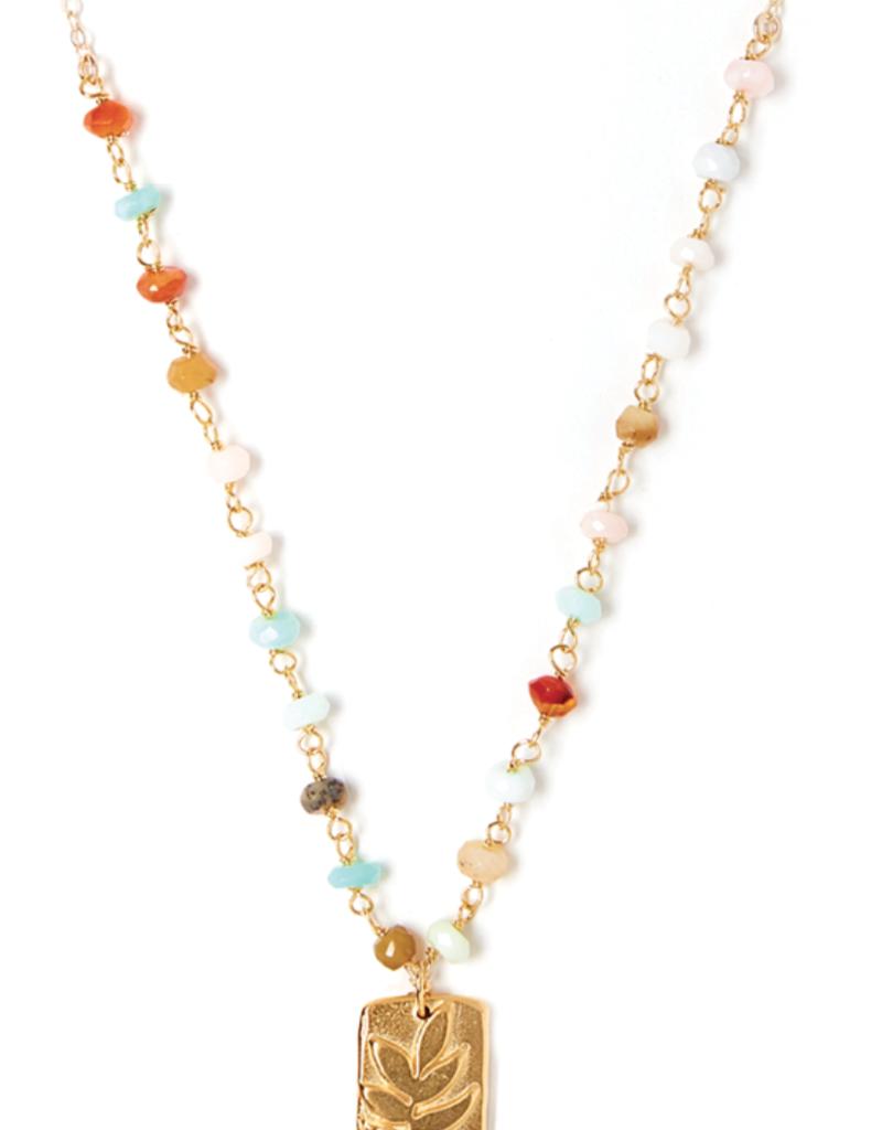 Bloom Gemstone Necklace