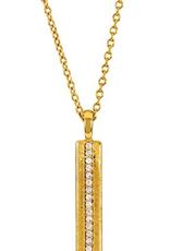Nia Shimmer Bar Pendant