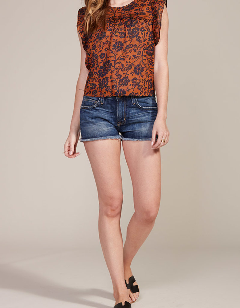 Batik It Easy Top Orange