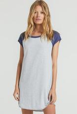 Mara Tee Dress Heather Grey