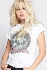 Blondie Portrait White
