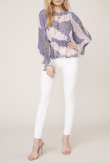 Easy Breezy Blouse Lavender