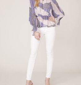Easy Breezy Blouse Lavender