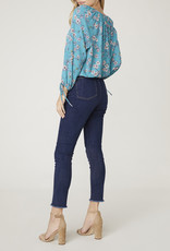 Floral Philosophy Blouse Blue