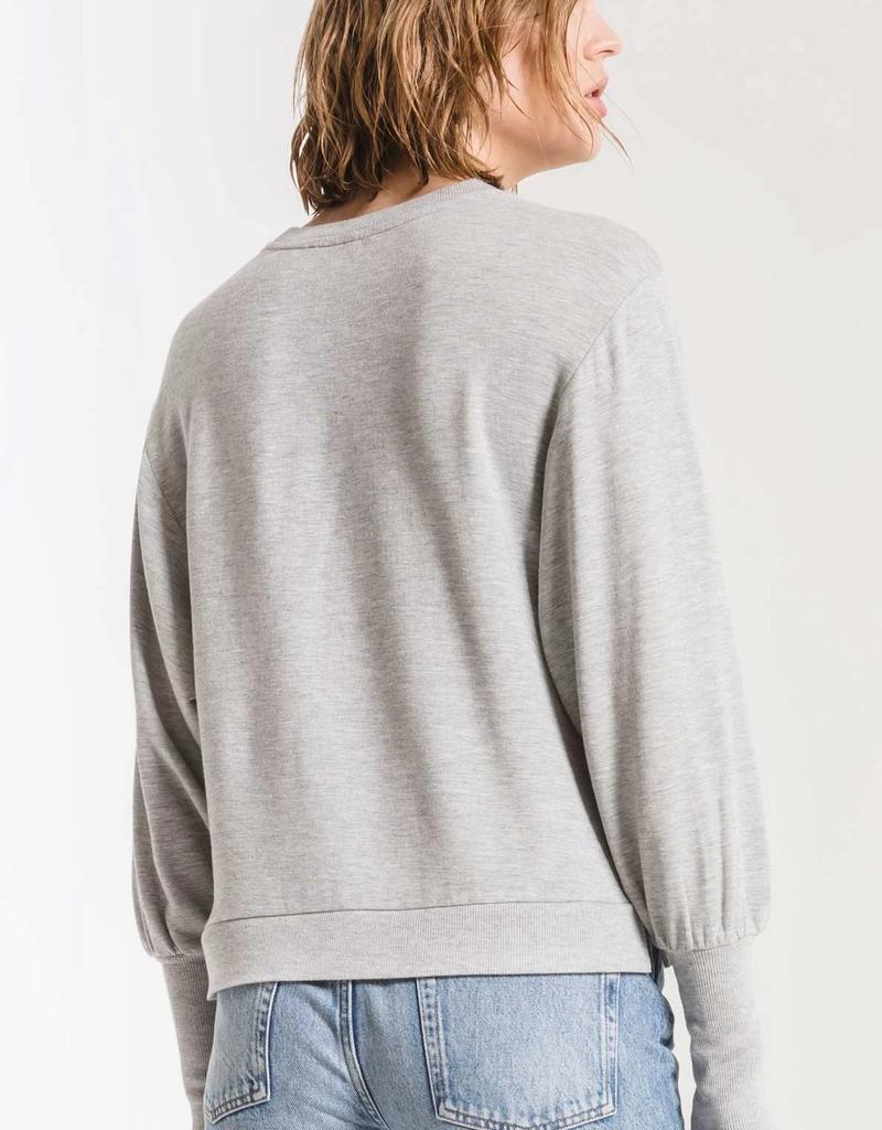 Puff Sleeve Top - Prm Fleece