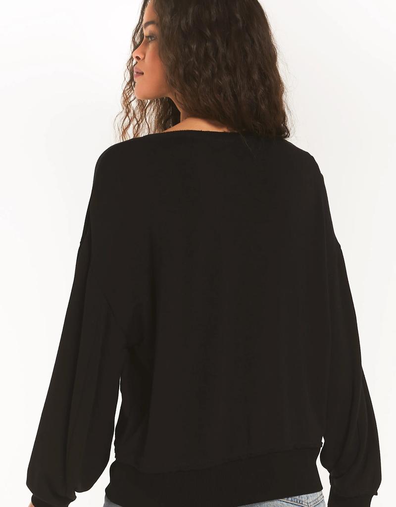 Deep V Pullover