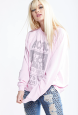 ACDC Highway LS Sweater - Rose