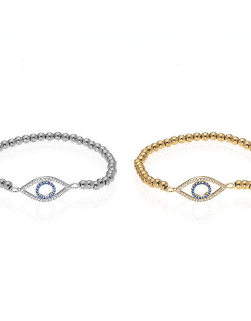 Anuja Tolia Evil Eye Bead Bracelet