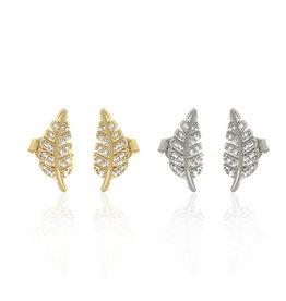 Anuja Tolia Fern Stud Earring