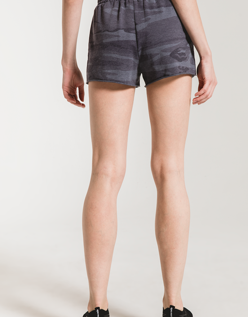 Camo Sporty Short Dark Blue