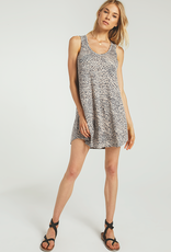 Breezy Animal Dress Sand