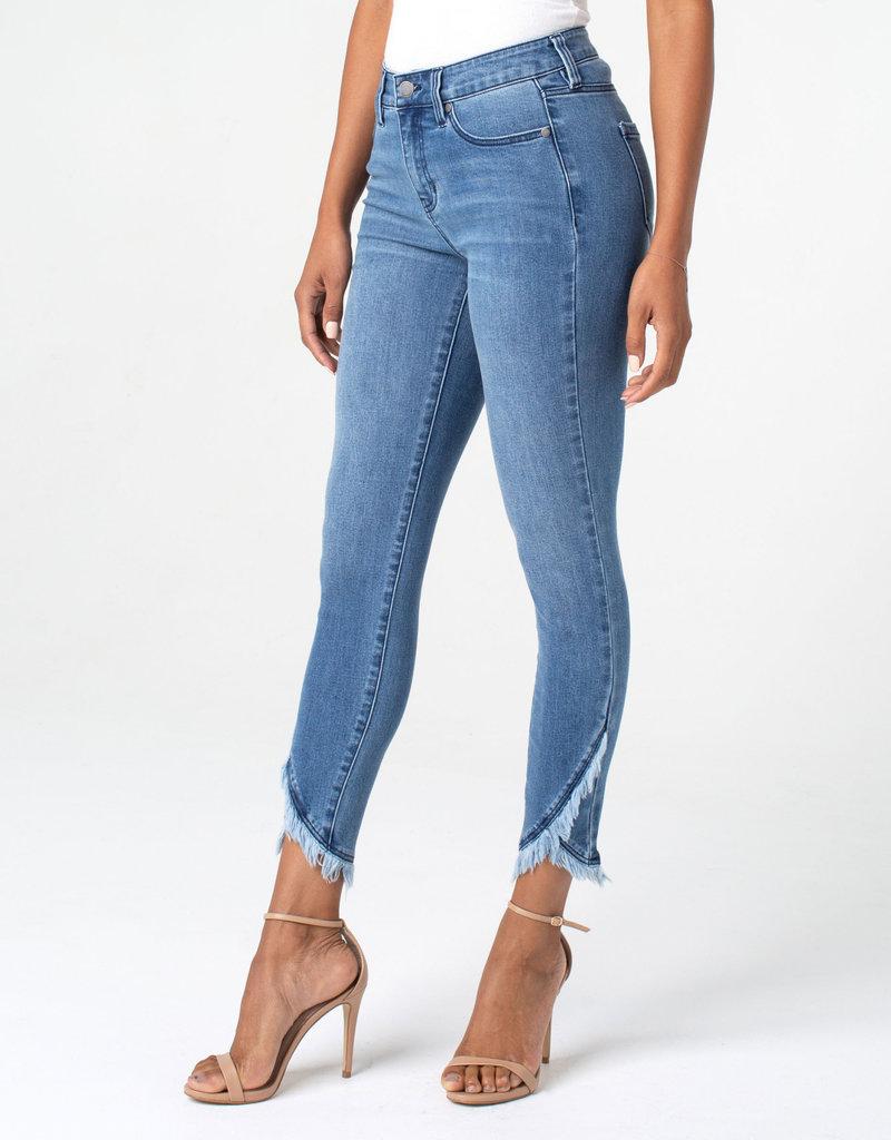 Abby Crop Skinny Scallop Hem Jean