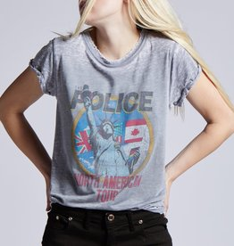 Police World Tour Tee Grey