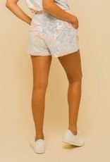 Cotton Candy Tie Dye Short