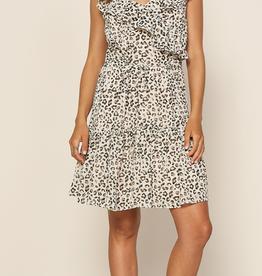 Leopard Ruffle Dress