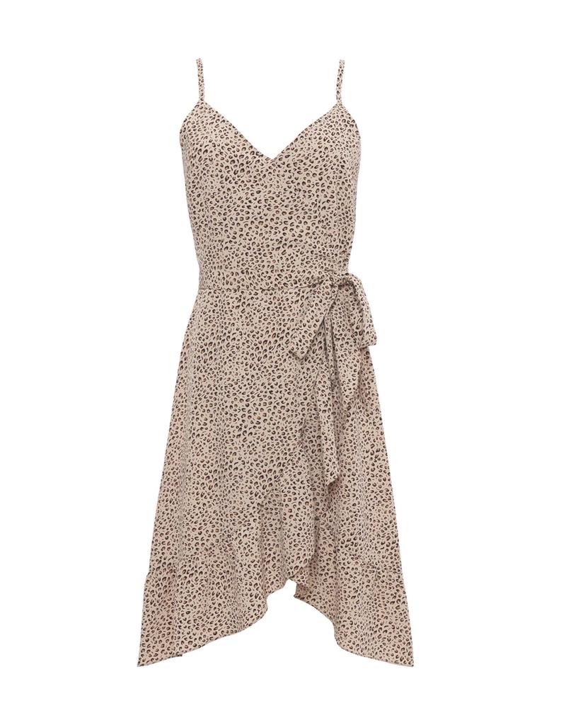 Bianca Midi Dress Mini Leopard