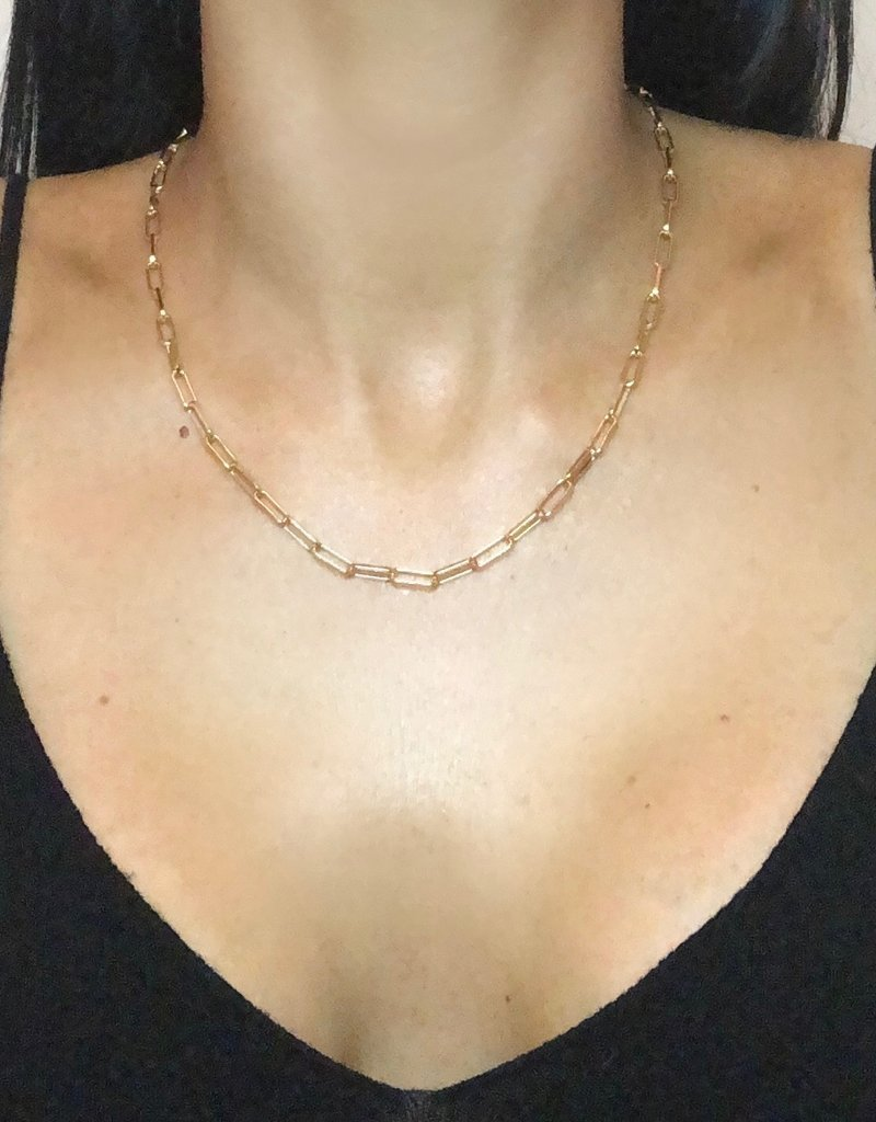 Anuja Tolia Link Necklace 18 inch