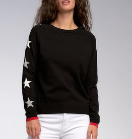 Star Sweater Black/Grey