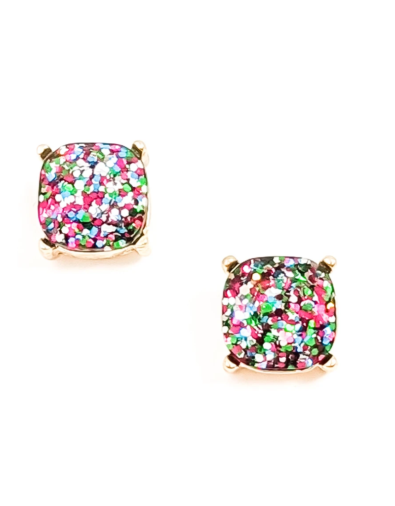 Natasha Glitter Earring