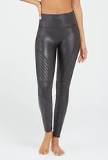 Faux Leather Moto Legging Black