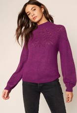 World Wide Web Sweater Magenta