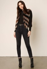 Fur Your Consideration Vest Brown
