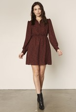 Sheryl LS Dress Autumn Mauve