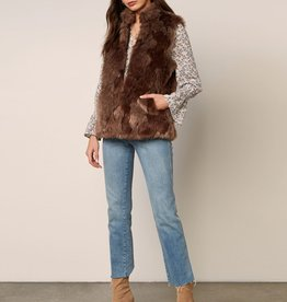 Fur What It's Worth Vest Camel