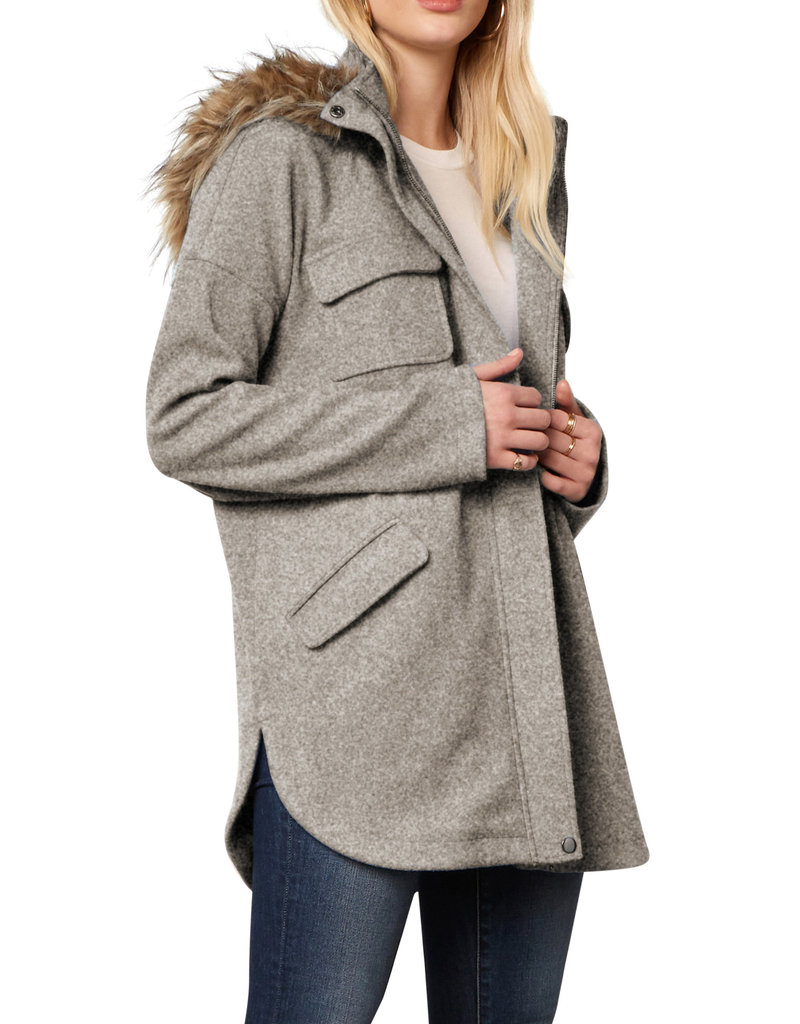 To The Limit Jacket Heather Grey