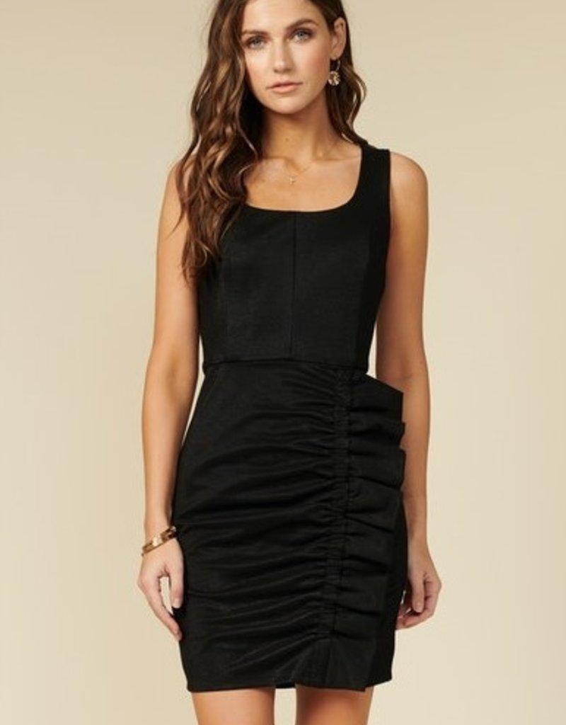 Holsey Knit Dress Black