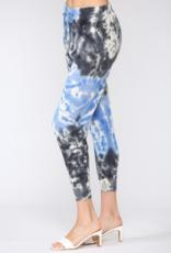 Tie Dye Knit Jogger Blue/Multi