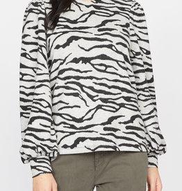 Wild Love LS Tee Zebra