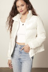 Show Doubt Puffer Jacket Pearl