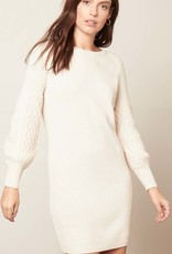 Seen Sweater Days Dress Ivory