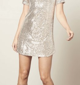 Hit the Lights Dress Silver