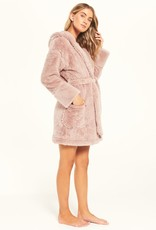 Head In The Clouds Robe Rose