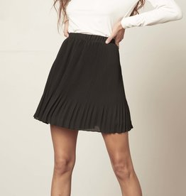 Life Com-Pleat Skirt Black