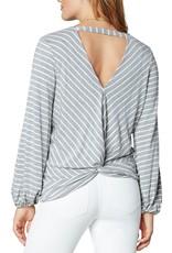 Twist Back LS Knit