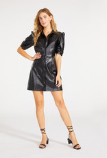 Faux Way Out Dress Black