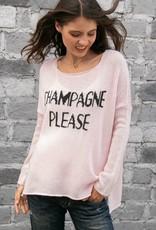 Champagne Please Pink/Black