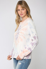 Tie Dye Distressed Sweater