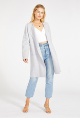Sweater With You Coat Heather Grey