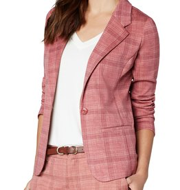 Fitted Blazer Mauve/Sand