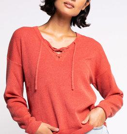 Tie The Knot Sweater Orange