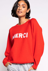 Merci Sweater Red
