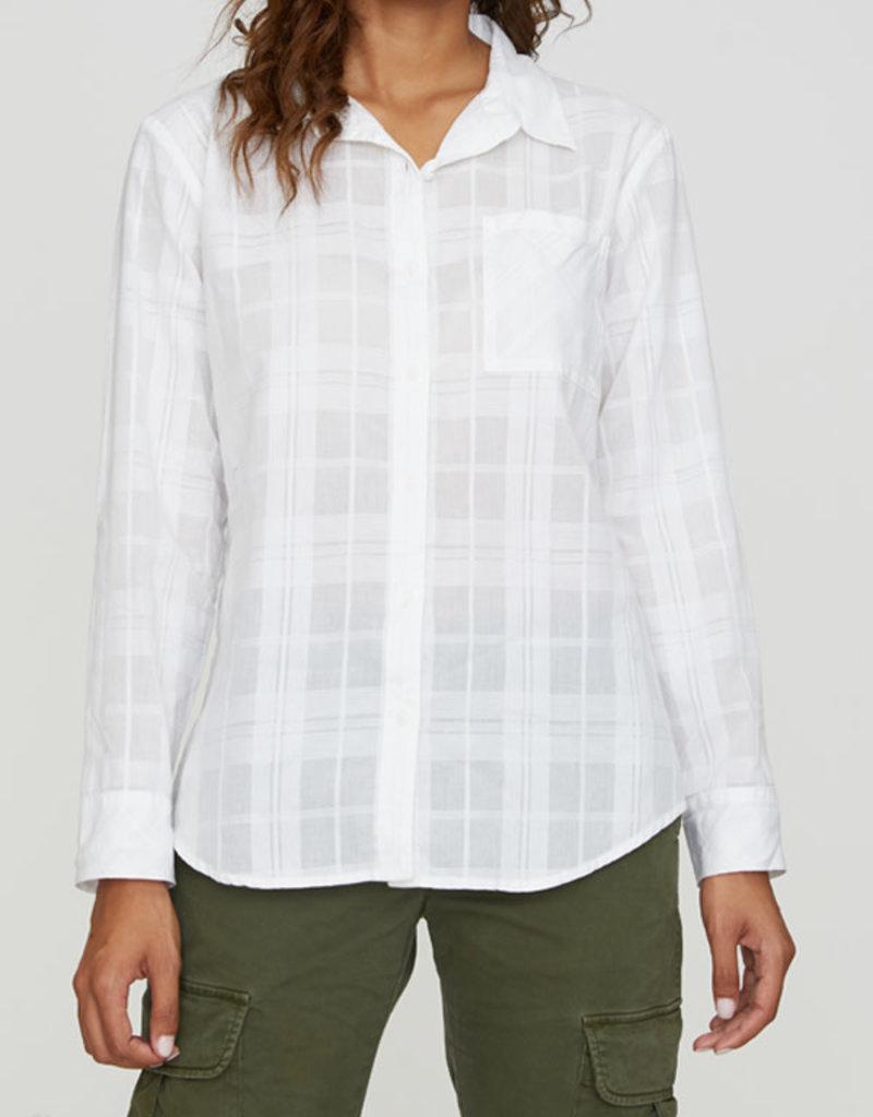 Keepers Boyfriend Shirt White